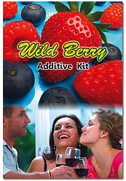 BLUEBERRY-PARTRIDGEBERRY FRUIT WINE ADDITIVE KIT