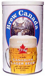 BREW CANADA LAGER 1.9 KG