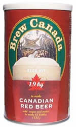 BREW CANADA RED BEER 1.9 KG