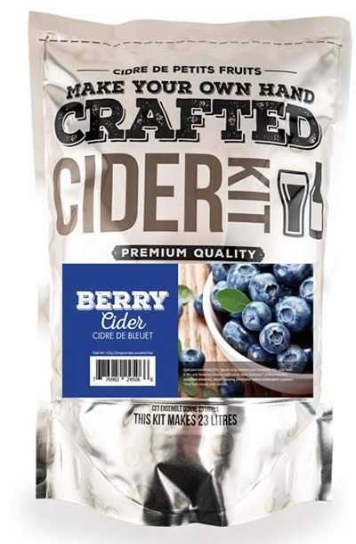 CRAFTED BLUEBERRY CIDER