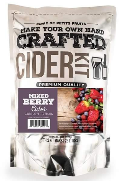 CRAFTED MIXED BERRY CIDER