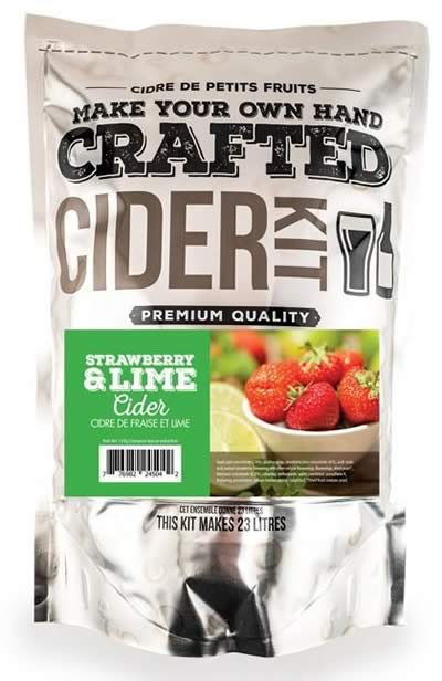 CRAFTED STRAWBERRY & LIME CIDER