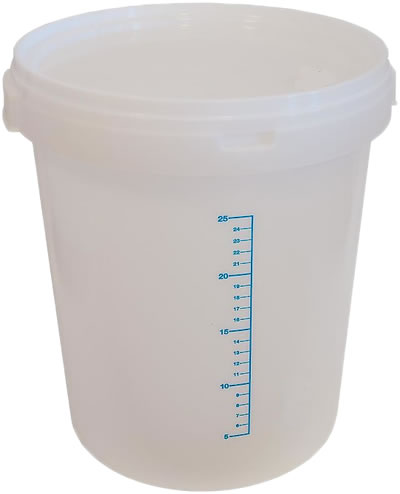 Craft Buckets With Lids