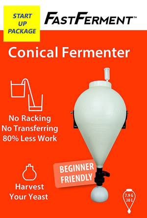 FAST FERMENT EQUIPMENT ONLY START-UP PACKAGE