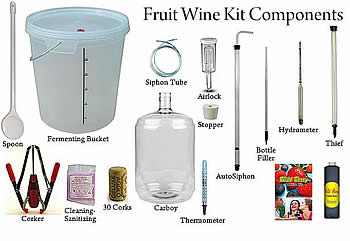 FRUIT WINE START-UP PACKAGE