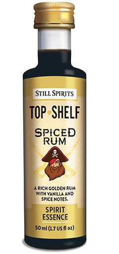 TOP SHELF SPICED RUM